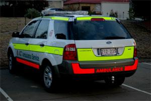 Ford Territory-Fluorescent High Visibility-ACT Ambulance-www.ambulancevisibility.com-John Killeen