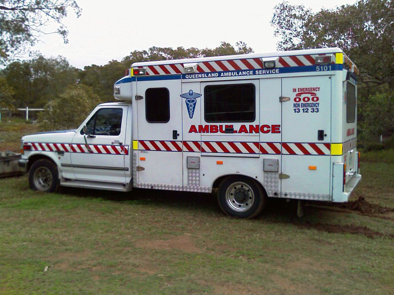 Queensland Ambulance-old